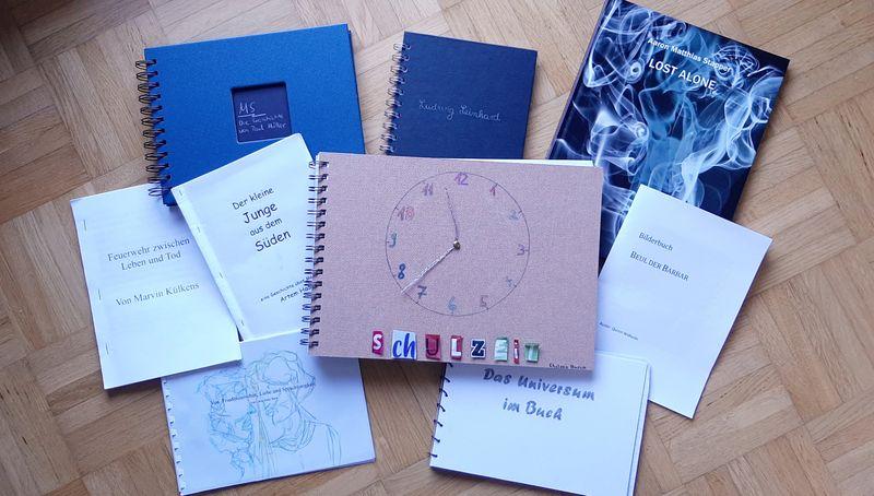 Buchprojekt des Q2-Literaturkurses